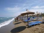 Strand Amoudara (Heraklion) - Insel Kreta foto 12
