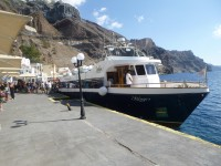 Schifffahrt durch die Caldera