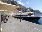 Schifffahrt durch die Caldera - Insel Santorini foto 1
