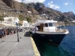 Schifffahrt durch die Caldera - Insel Santorini foto 2