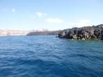 Schifffahrt durch die Caldera - Insel Santorini foto 3