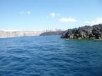Schifffahrt durch die Caldera - Insel Santorini foto 4