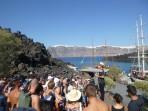 Schifffahrt durch die Caldera - Insel Santorini foto 7