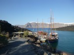 Schifffahrt durch die Caldera - Insel Santorini foto 24