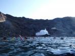 Schifffahrt durch die Caldera - Insel Santorini foto 31