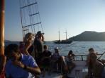 Schifffahrt durch die Caldera - Insel Santorini foto 34