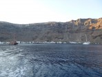 Schifffahrt durch die Caldera - Insel Santorini foto 41