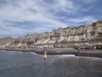 Schwarzer Strand - Insel Santorini foto 2