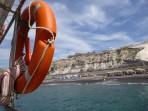 Schwarzer Strand - Insel Santorini foto 4
