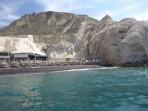 Schwarzer Strand - Insel Santorini foto 6