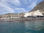 Schwarzer Strand - Insel Santorini foto 7