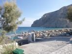Strand Kamari - Santorini foto 2