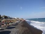 Strand Kamari - Santorini foto 3