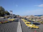 Strand Kamari - Santorini foto 7