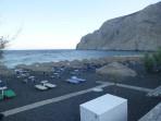 Strand Kamari - Santorini foto 9