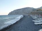 Strand Kamari - Santorini foto 19