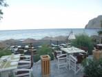 Strand Kamari - Santorini foto 24