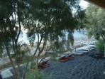 Strand Kamari - Santorini foto 26