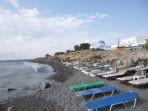Strand Perissa - Insel Santorini foto 4