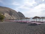 Strand Perissa - Insel Santorini foto 6