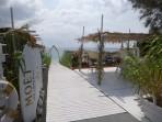Strand Perivolos - Insel Santorini foto 12