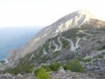 Mesa Vouno Gebirge - Insel Santorini foto 2