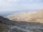 Mesa Vouno Gebirge - Insel Santorini foto 9