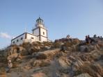 Leuchtturm Akrotiri - Insel Santorini foto 8