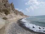 Strand  Eros - Insel Santorini foto 2