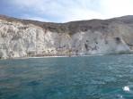Weißer Strand - Insel Santorini foto 2