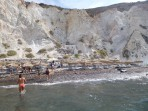 Weißer Strand - Insel Santorini foto 4