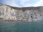 Weißer Strand - Insel Santorini foto 5