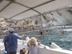Weißer Strand - Insel Santorini foto 6
