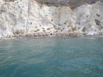 Weißer Strand - Insel Santorini foto 8
