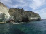 Weißer Strand - Insel Santorini foto 13