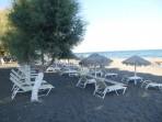 Strand Agia Paraskevi - Insel Santorini foto 4