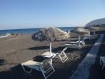 Strand Agia Paraskevi - Insel Santorini foto 6