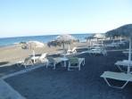 Strand Agia Paraskevi - Insel Santorini foto 7