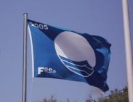 Wenn an einem Strand die blaue Fahne flattert...