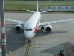 Mit Flugzeug nach Griechenland